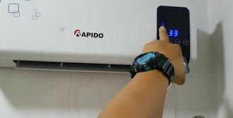 Chuyên sửa bình nóng lạnh rapido tại nhà hà nội