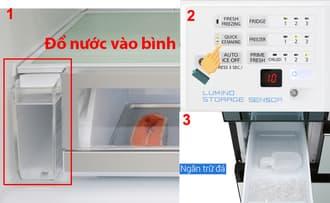 Sử dụng tủ lạnh hiệu quả tránh sự cố không đổ đá