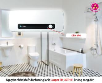 Sửa bình nóng lạnh casper bị mất nguồn điện