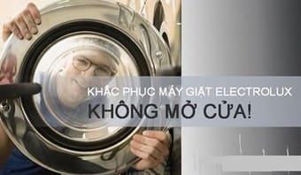 Gọisửamáy giặt Electrolux báo lỗi E7 chỉ với 1 click