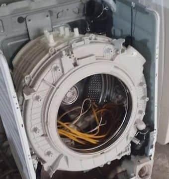 Sửa máy giặtelectrolux cửa ngang nháy đèn