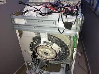 Thay động cơ, sửa máy giặt rung lắc tại royal city