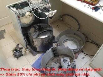 Máy giặtelectrolux hỏng bi nên thường kêu khi sử dụng