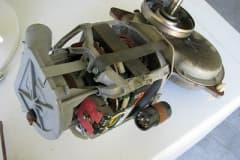 Động cơ bị cháy khiến máy giặtelectroluxbáo lỗi
