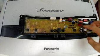 Sửa board mạch máy giặt panasonic mất nguồn
