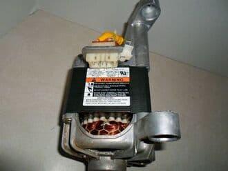 Máy giặtelectrolux hỏng động cơ, mài mòn chổi than