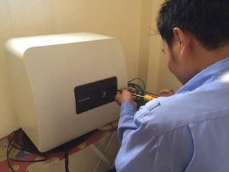Sửa bình nóng lạnh casper để hạn chế cháy nổ