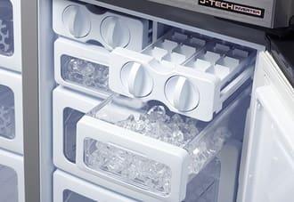 Tự sửa tủ lạnh sharp không đổ đá tự động tại nhà