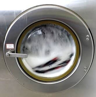 Máy giặt chỉ mở cửa được một lần khi cho đồ giặt vào