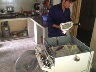 Sửamáy giặt Electrolux báo lỗi E7 tại nhà khách hàng