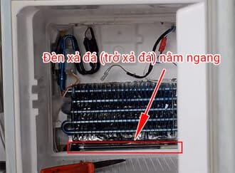 Sửa tủ lạnh khôngxả đá do bị hỏng trởxả đá