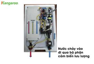 Tự sửa bình nóng lạnh gas theo sơ đồ nguyên lý