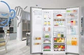 Bảo hành tủ lạnh side by side không lạnh kém mát tại nhà 247