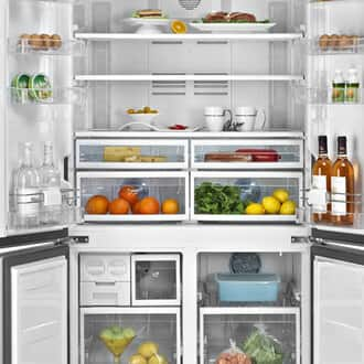 Nguyên nhân khiến tủ lạnh side by side bị nháy đèn