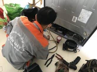 Quy trình sửa tủ side by side không lạnh chuyên nghiệp