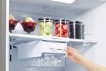 Sửa tủ lạnh mitsubishi side by side không đông đá