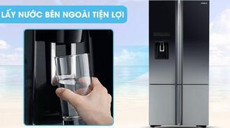 Sửa tủ lạnh hitachi side by side không làm nước lạnh