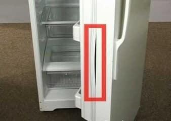 Sửa tủ lạnh electrolux side by side hỏng zoăng cửa
