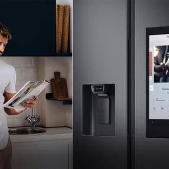 Sửa tủ lạnh samsung side by side có điện không chạy