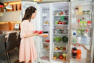 Sửa tủ lạnh side by side hitachi chạy không mát