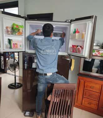 Dịch vụsửa chữa tủ side by side không chạy tại nhà