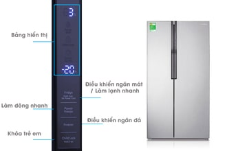 Sửa tủ side by side nháy đèn giá rẻ bảo hành dài hạn