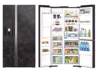 Thay kinh kiện tủ lạnh side by side lg mất nguồn