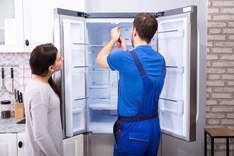 Tủ lạnh side by side không có điện do hỏng mạch