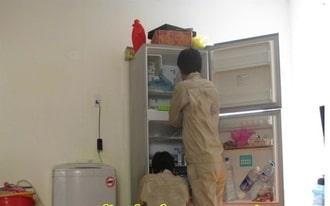 Tủ lạnh bám tuyết có thể gây ra các sự cố nguy hiểm