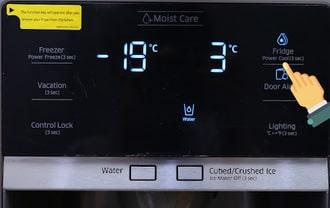 Tủ lạnh side by sidebáo lỗi do hỏng main mạch