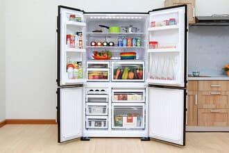 Bảo hành tủ lạnh side by side báo lỗi nháy đèn tại nhà 24/7