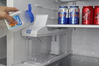 Tủ side by side hỏng main mạch nên không làm nước lạnh