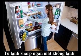 Tủ lạnh side by sidelỗi không lạnh làm hỏng thực phẩm