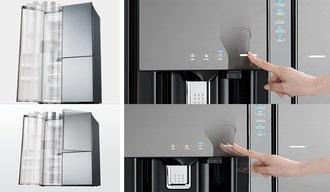 Tự sửa lỗi bám tuyết tủ lạnh side by side tại nhà