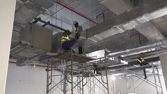 Cung cấp nhân công lắp đặt cho các hệ thống điều hòa