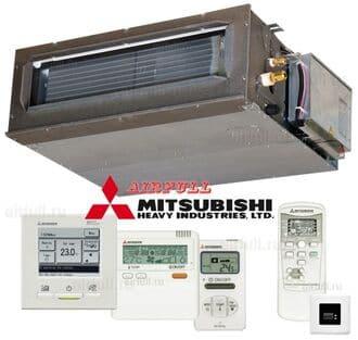 Điều hòa cục bộ Mitsubishi ống gió phù hợp nhiều không gian