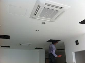 Lắp điều hòa Mitsubishi âm trần cho chung cư