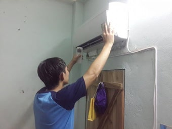 Lắp điều hòa tiện cho quá trình vệ sinh bảo trì