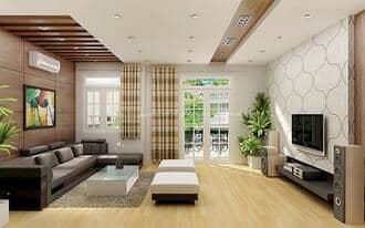 Lắp điều hòa daikin multi treo tường phòng khách biệt thự
