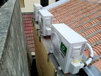 Có nên lắp điều hòa dàn nóng cao hơn dàn lạnh không