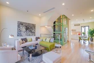 Lắp điều hòa ống gió cho phòng khách nhà liền kề
