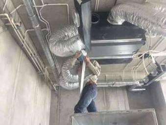 Bọc cách nhiệt ống tôn, ống gió cho phụ kiện ống gió