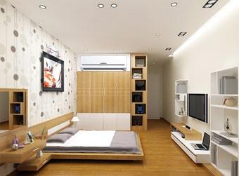 Lắp đặt điều hòa mới cho căn hộ chung cư