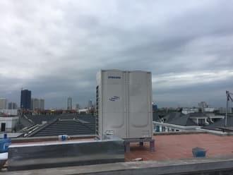 Lắp điều hòa trung tâm Samsung cho nhà biệt thự