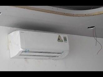 Lắp điều hòa daikin treo tường phòng ngủ 18m2