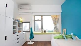 Lắp điều hòa multi Mitsubishi treo tường phòng ngủ