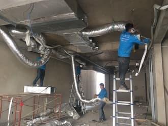 Báo giá thi công điều hòa ống gió Daikin