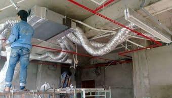 Lắp điều hòa ống gió cho nhà biệt thự Hà nội